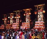 Takojima, Kiriko festival, Suzu, Ishikawa, Japan
