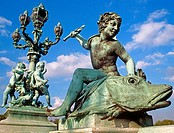 Pont Alexandre III. Paris. France
