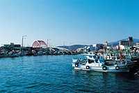 Cheonghodaegyo Bridge,Port Sokcho,Gangwon,Korea