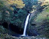 Waterfall of Joren, Amagi, Yugashima, Shizuoka, Japan