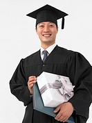 Portrait Of Graduate