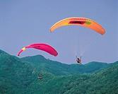 Paragliding,Korea