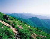 Mountain Climbing,Jeonbuk,Korea