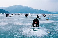 Smelt Fishing,Korea