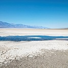 Bad water Basin in Death Valley National Park.