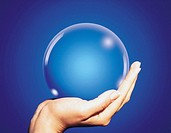 Hands Holding Sphere, Korea