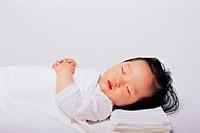 Baby Girl Sleeping, Korean