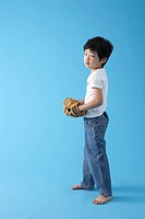 Boy with Baseball Glove, Korea