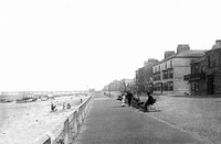 Redcar, the Esplanade c1885