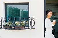 Young Woman at Home, Korea