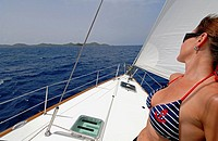 Sailboating in the British Virgin Islands