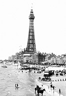 Blackpool, the Tower from Central Pier 1899