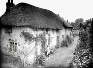Tiverton, Old Cottages, Little Silver 1920