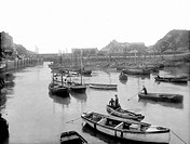 Polperro, Fishing Boats 1924