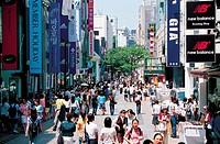 Myeongdong,Seoul,Korea