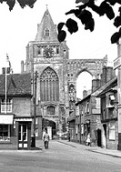 Crowland, the Abbey c1955