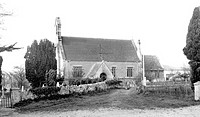 Woodborough, the Church c1955