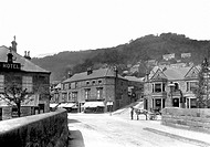 Matlock Bath, North Parade and Midland Hotel 1892