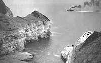 Flamborough, Little Thornwick Bay c1930