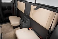 2006 GMC Canyon WT in Red - Rear seats