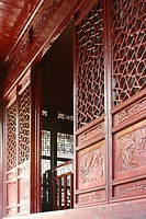 Front Doors with Intricate Carving