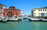 Venice Bridge and Buildings