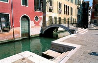 Venice Bridge and Canal