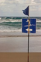 Surf Sign and Flag, Australia