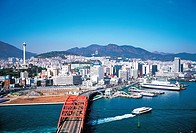 Busandaegyo Bridge,Busan Port,Busan,Korea