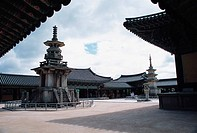 DabotapMulti-story Pagoda,Bulguksa Temple,Gyeongju National Park,Gyeongbuk,Korea