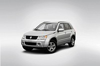 2008 Suzuki Grand Vitara Luxury in Silver - Front angle view