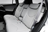 2008 Toyota RAV4 Limited in Silver - Rear seats