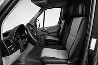 2008 Dodge Sprinter 2500 Cargo in Gray - Front seats