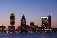 FINANCIAL DISTRICT, JERSEY CITY, NEW JERSEY, USA