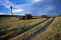 Caleta Valdés lighthouse. Península Valdés. Argentina.