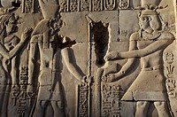 Temple of Kom Ombo, Egypt/ The Temple of Kom Ombo is an unusual double temple built during the rule Ptolemaic dynasty in the Egyptian town of Kom Ombo...