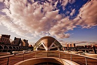 Hemisferic, City of Arts and Sciences by S. Calatrava. Valencia. Comunidad Valenciana, Spain