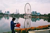 Skyline view of KLCC & KL Tower, Kuala Lumpur, Malaysia