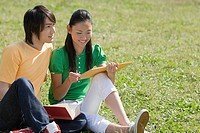 Students outdoors (thumbnail)