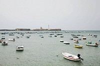 Harbour cadiz spain