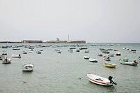 Harbour cadiz spain