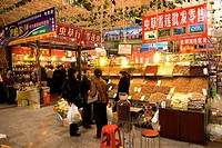 China, Xinjiang, Urumqi, great bazaar