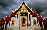 Wat Benchamabophit (Marble Temple), Bangkok. Thailand
