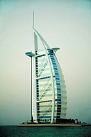 Burj Al Arab Hotel, Dubai. UAE (United Arab Emirates)