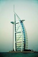 Burj Al Arab Hotel, Dubai. UAE (United Arab Emirates)