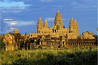 Angkor Wat temple complex. Siem Reap area, Cambodia