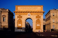 Arc de Triomphe Montpellier France