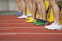 Runners at Starting Line (thumbnail)