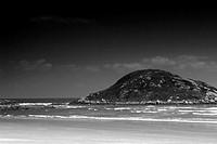 Beach ,Beach de Iimbituba, Santa Catarina, Brazil