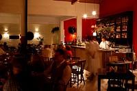 Bar interior, São Paulo, Brazil